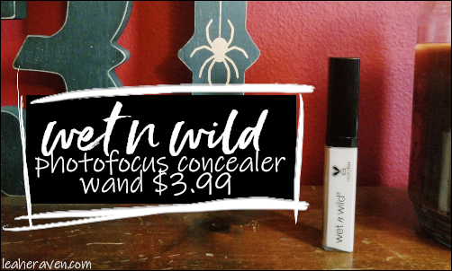 LeahERaven.com | Wet N Wild PhotoFocus Concealer Wand in Light Ivory $3.99 US