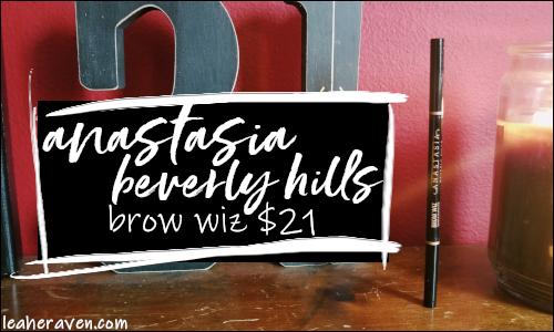 LeahERaven.com | Anastasia Beverly Hills Brow Wiz $21 US