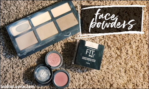 LeahERaven.com | September 2018 Makeup Basket: Face Powders
