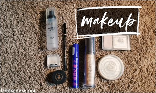 LeahERaven.com | August 2018 Empties: Makeup