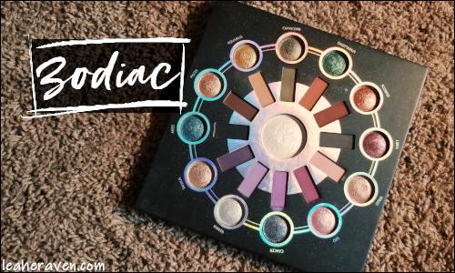 LeahERaven.com | Makeup Inventory Part 5: Eyeshadow Palettes - BH Cosmetics Zodiac Palette