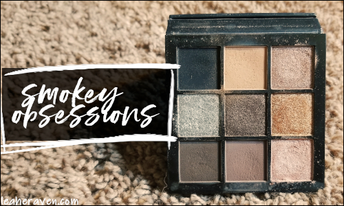LeahERaven.com | Makeup Inventory Part 5: Eyeshadow Palettes - Huda Beauty Smokey Obsessions