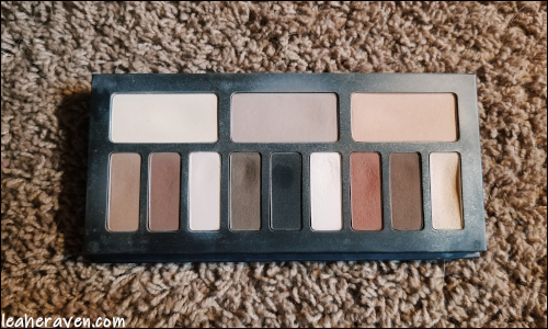 LeahERaven.com | Makeup Inventory Part 5: Eyeshadow Palettes - Kat Von D Beauty Shade & Light Eye Contour Palette