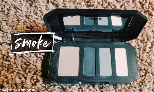 LeahERaven.com | Makeup Inventory Part 5: Eyeshadow Palettes - Kat Von D Beauty Shade & Light Eye Contour Quad in Smoke