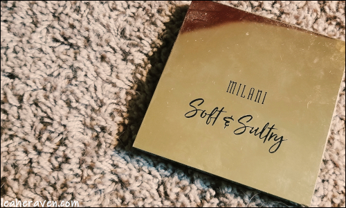 LeahERaven.com | Makeup Inventory Part 5: Eyeshadow Palettes - Milani Soft & Sultry Palette