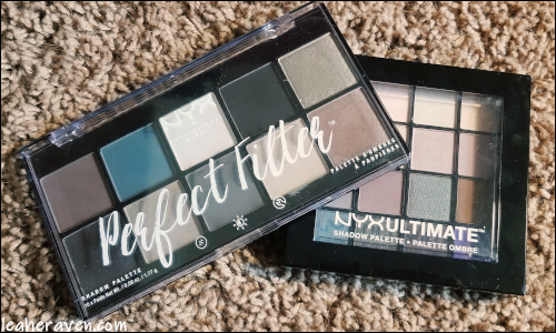 LeahERaven.com | Makeup Inventory Part 5: Eyeshadow Palettes - NYX Professional Makeup