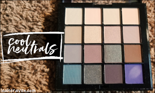 LeahERaven.com | Makeup Inventory Part 5: Eyeshadow Palettes - NYX Professional Makeup Ultimate Shadow Palette in Cool Neutrals