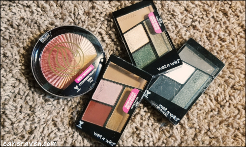 LeahERaven.com | Makeup Inventory Part 5: Eyeshadow Palettes - Wet N Wild