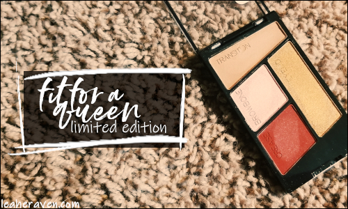 LeahERaven.com | Makeup Inventory Part 5: Eyeshadow Palettes - Wet N Wild ColorIcon Eyeshadow Quad in Fit For A Queen (Limited Edition)