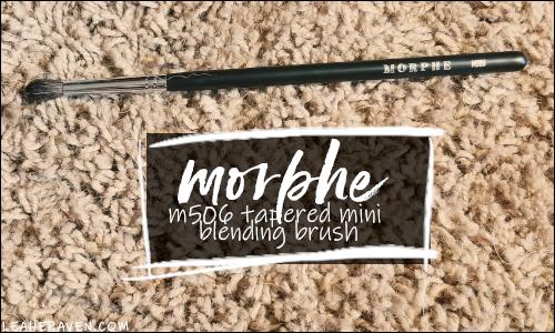 LeahERaven.com | YouTube Made Me Buy It: Emily Edition - Morphe M506 Tapered Mini Blending Brush