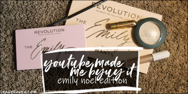 LeahERaven.com | YouTube Made Me Buy It: Emily Edition