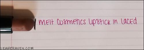 LeahERaven.com | 12 Pans of Christmas Intro - Melt Cosmetics Matte Lipstick