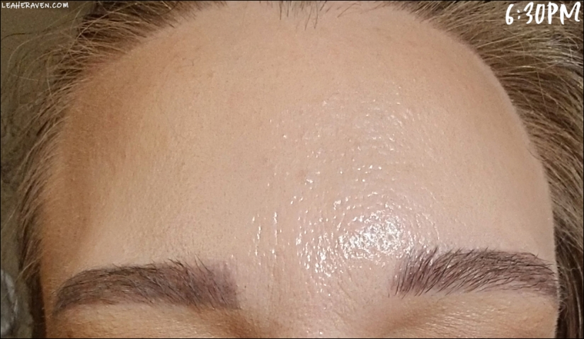 LeahERaven.com   Review: FLOWER Beauty Light Illusion Liquid Foundation - 6:30pm Final Check-In
