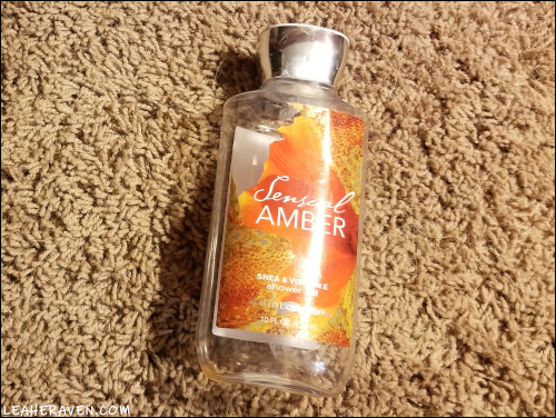 LeahERaven.com | September 2018 Empties - Bath & Body Works Sensual Amber Shower Gel