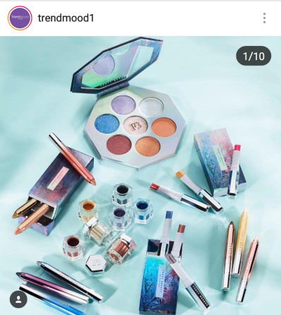 Picture Credit To TRENDMOOD1 of INSTAGRAM | Fenty Holiday Collection 2018