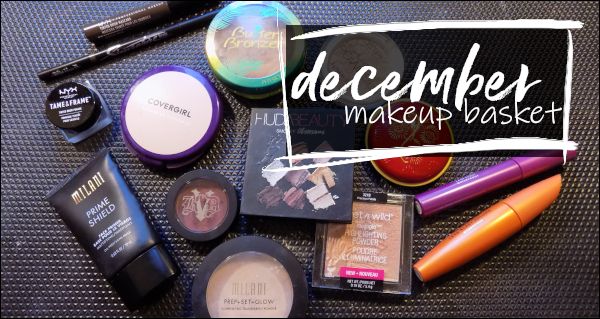 LeahERaven.com | December Makeup Basket - Shop My Stash