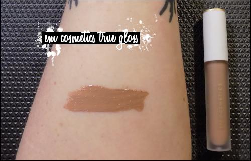 LeahERaven.com | EM Cosmetics True Gloss