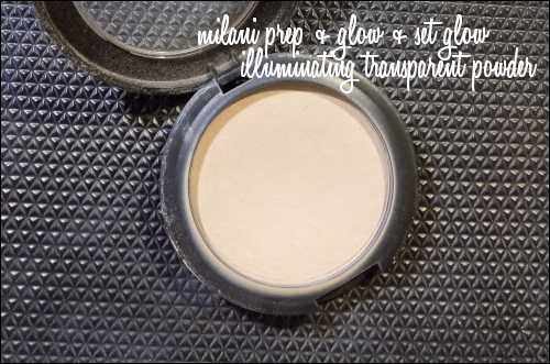 LeahERaven.com | Milani Prep + Set + Glow Illuminating Transparent Powder