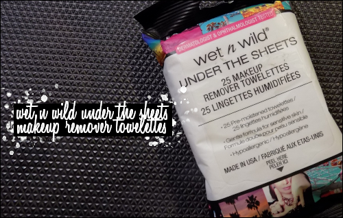 LeahERaven.com | Wet N Wild Under The Sheets Makeup Remover Towelettes