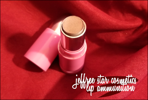 LeahEiden.com | Jeffree Star Cosmetics Lip Ammunition in CELEBRITY SKIN