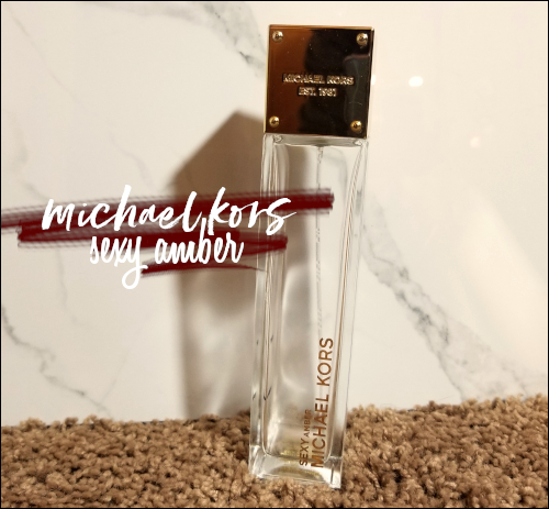 LeahEiden.com | Michael Kors Sexy Amber Perfume