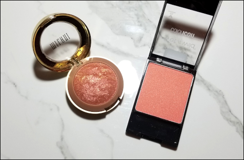 LeahEiden.com | January 2018 Makeup Basket - Milani Baked Blush & Wet N Wild ColorIcon Blush