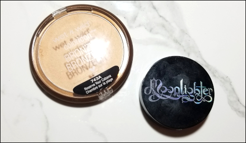 LeahEiden.com | January 2018 Makeup Basket - Wet N Wild ColorIcon Bronzer & Black Moon Cosmetics Moonlighter