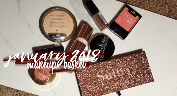LeahEiden.com | January 2018 Makeup Basket